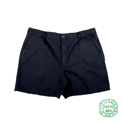 Carnac, Organic cotton canvas shorts navy