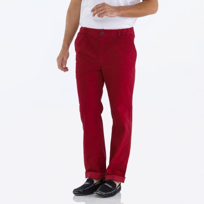 Picabia, Stretch gabardine pants and tapered leg bottoms kermes