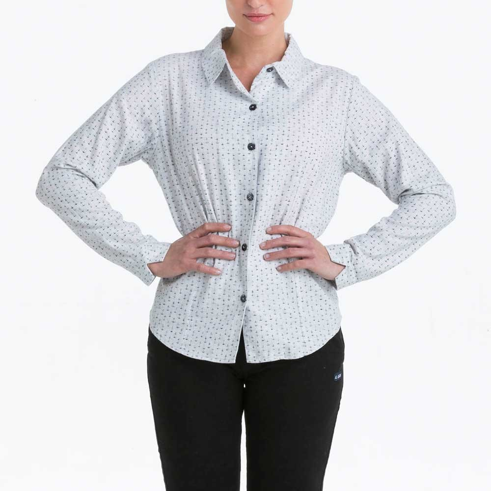 Minois, Original winter blouse with anchor pattern