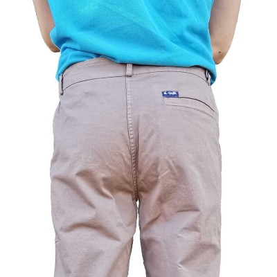Picador, Chino pants tapered fit back jonc