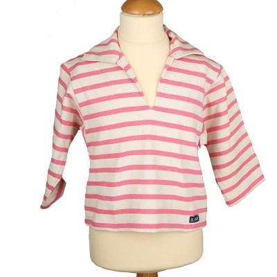 Rosa, Striped jersey child sailor's smock
