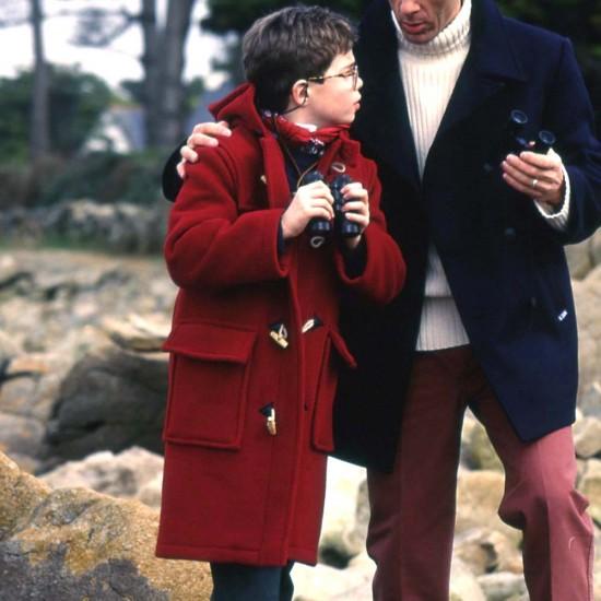 Golf, Child Duffle Coat, Breton and authentic Kermes