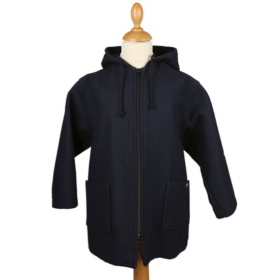Yann, Wool parka child marine