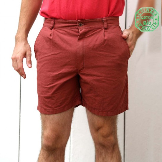 Carnac, Organic cotton canvas shorts