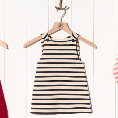 Sizun, Striped jersey dress