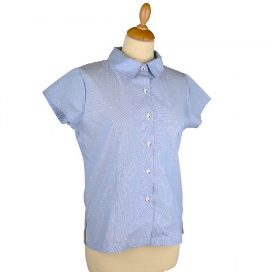 Madison, short sleeve pinch shirt