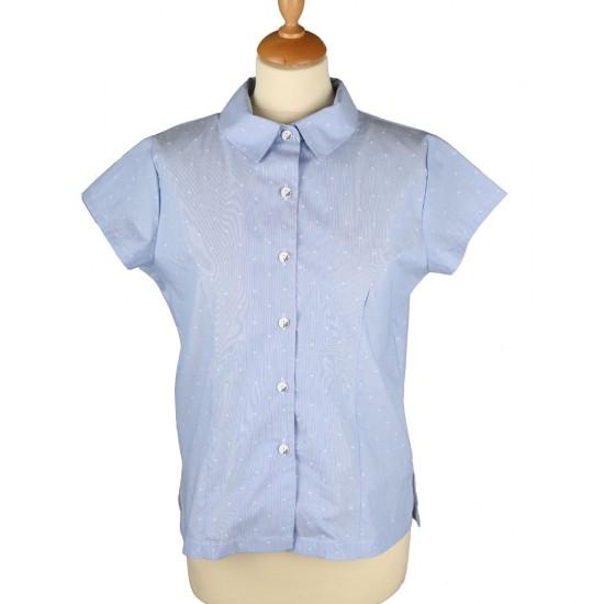 Madison, short sleeve pinch shirt