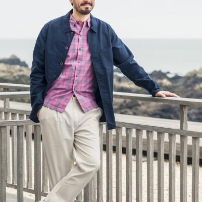 Florient, veste homme en coton biologique