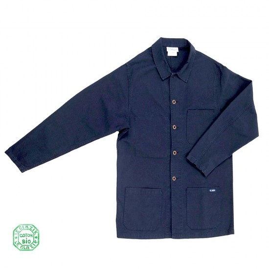 Florient, 100% organic-cotton sailor's jacket navy