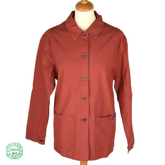 Fontenay, veste femme en coton biologique