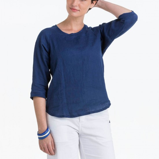 Women Blouse in linen Le Glazik