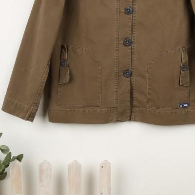 Fastnet, Fancy Stretch Canvas Jacket Le Glazik Zoom Ecorce