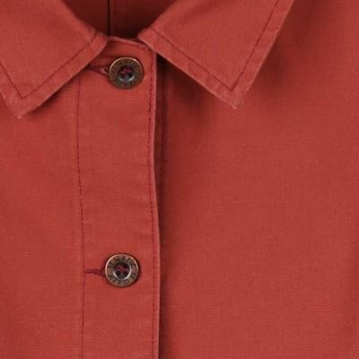 Fontenay, veste femme en coton biologique zoom bouton