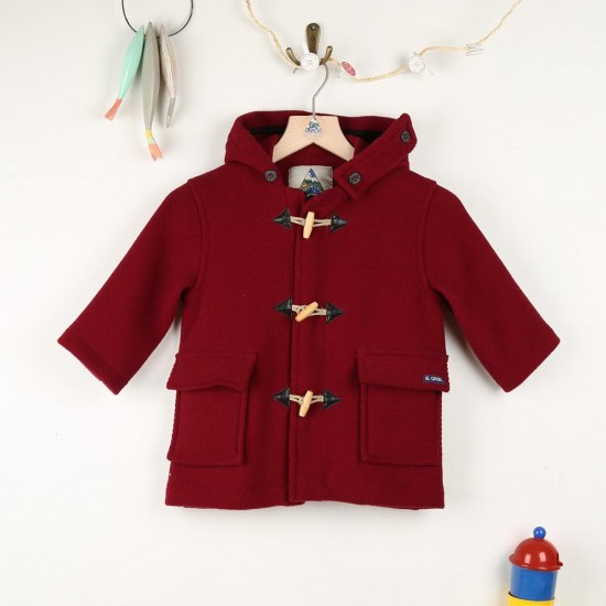 Gavroche, manteau en chevrons laine enfant Le Glazik