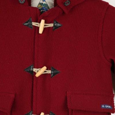 Gavroche, manteau en chevrons laine enfant zoom