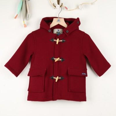 Gavroche, manteau en chevrons laine enfant