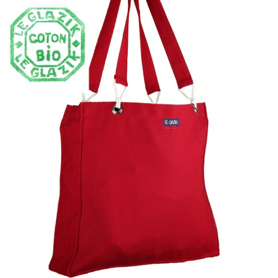 Surf, organic cotton bag