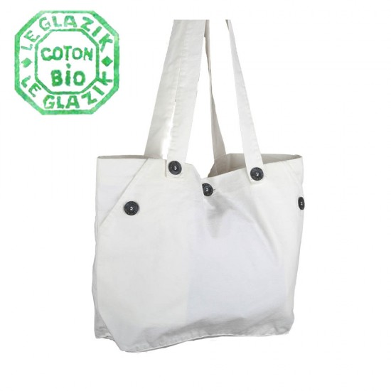 Sable, organic cotton bag