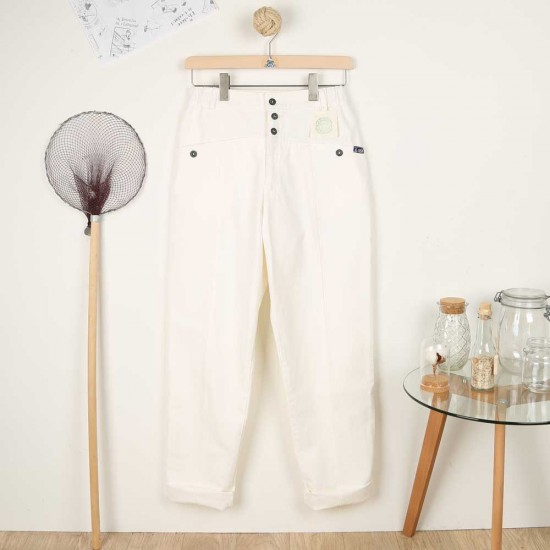 Papyrus, Pants in organic cotton women pants Le Glazik