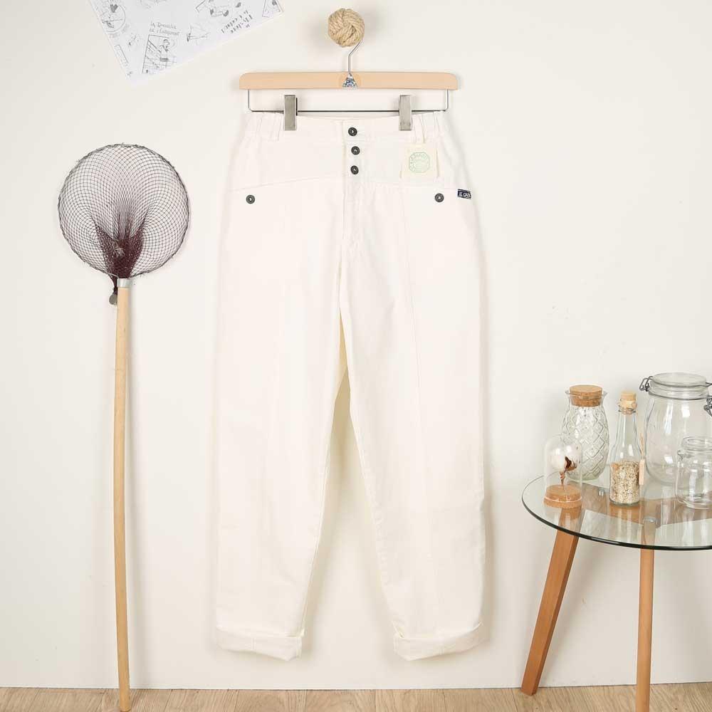 Papyrus, Pants in organic cotton women pants Le Glazik
