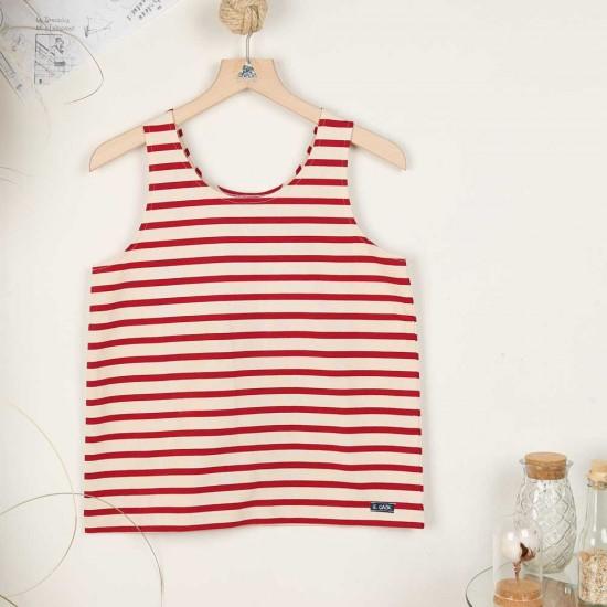 Marvenna, T-shirt sans manches