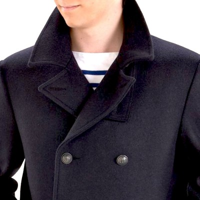 Col authentique Le Glazik Pea Coat