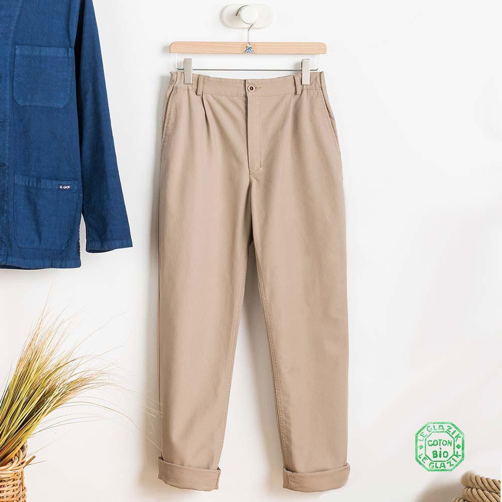 Pantalon Fusain Ponant Le Glazik Homme