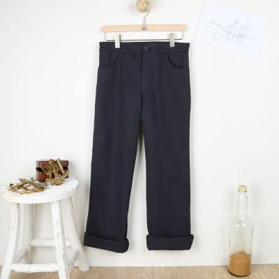 Pierre, Pantalon esprit Jeans Le Glazik