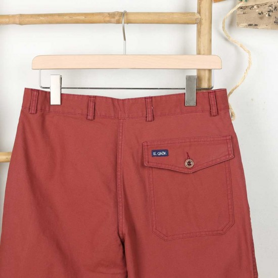 Carnac, Organic cotton canvas shorts back