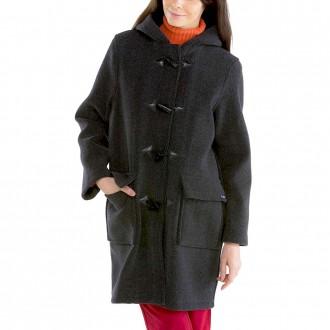 Women Duffle Coat - Maison Le Glazik