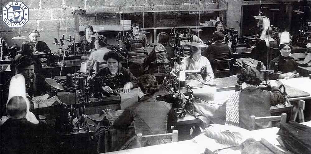 Atelier Le Glazik en 1930