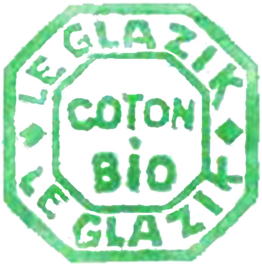 Le Glazik fabrique en coton biologique
